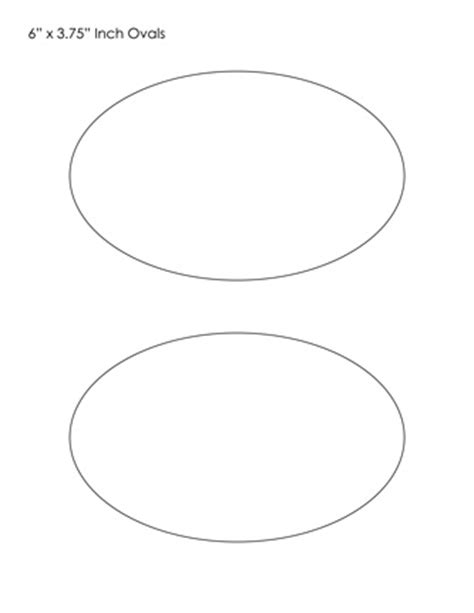 oval template oval templates blank shape templates free printable pdf