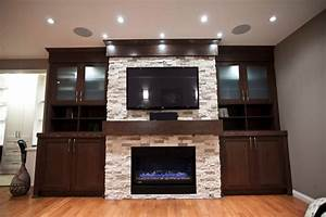 electric fireplace ideas Bedroom Contemporary with Bedroom ...