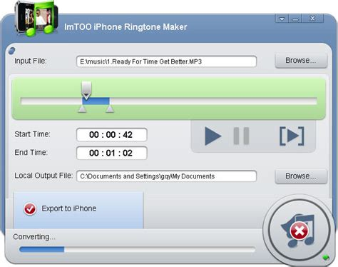 iphone ringtone maker imtoo iphone ringtone maker file extensions