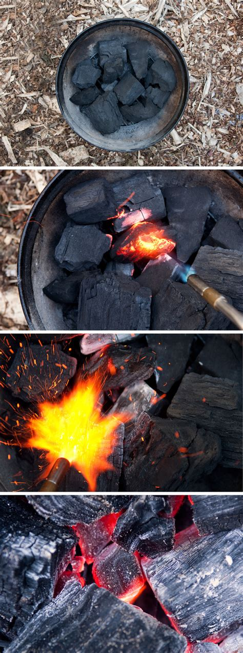 how to light a grill how to light a charcoal grill with a blowtorch my