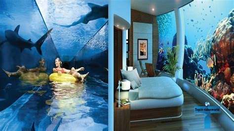 top 10 wonderful and coolest underwater hotels around the