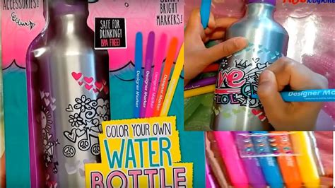 color your color your own water bottle your decor diy onto