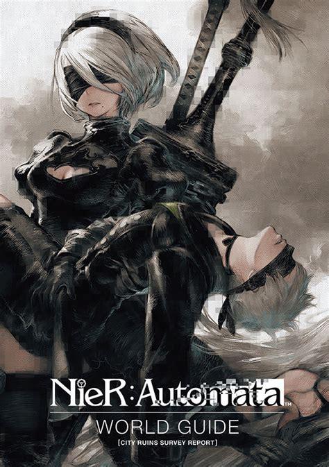 nier automata world guide volume  hc profile dark