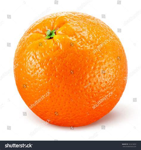 Orange Fruit Isolated On White Stock Photo 161613653