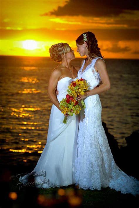 Hawaiian Island Lesbian and Gay Wedding Packages   Purple Orchid Wedding Planners