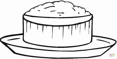 Rice Coloring Clipart Porridge Pages Printable Breakfast