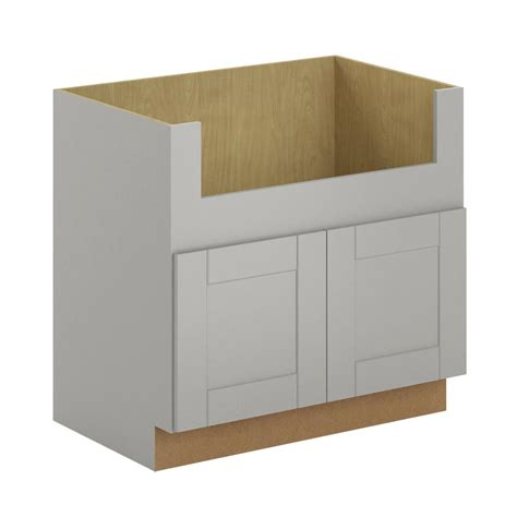 24 inch kitchen sink base cabinet hton bay princeton shaker assembled 36x34 5x24 in 8977