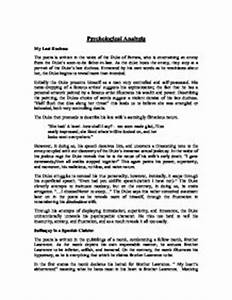 My Last Duchess Essay Essays About Diversity My Last Duchess  My Last Duchess Discussion Questions Answers Help Writing Essay Paper also Sample Essay High School  Argumentative Essay Sample High School