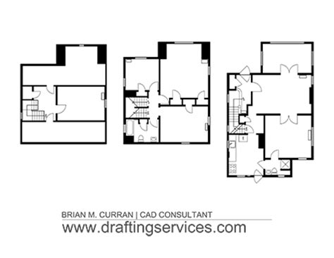 floor plan template autocad cad floor plans by draftingservices
