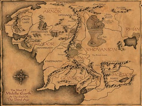 maps  pinterest middle earth middle earth map