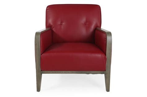 boulevard leather accent chair mathis brothers furniture