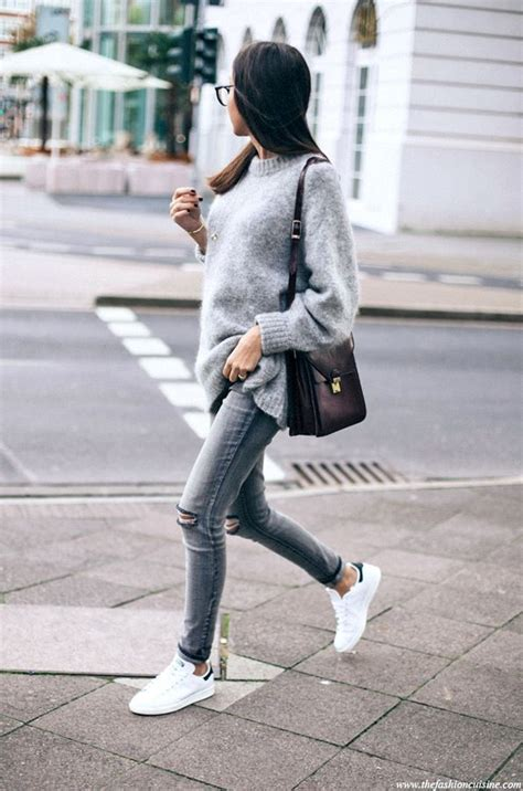 Casual Cool Grey Look Try Now The Edit