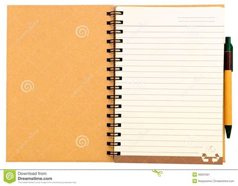 paper notebook stock image image  study object