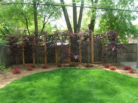 Backyard Privacy Landscaping by Outdoor Living 171 Landscape Artisan