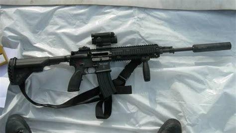 gun  seal team    kill osama bin laden hk  firearm blog