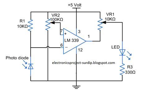 photodiode light detector circuit pics for gt photodiode sensor circuit
