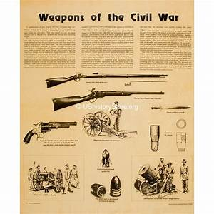 Northern Weight Chart Weapons Of The Civil War Small Poster Size Store