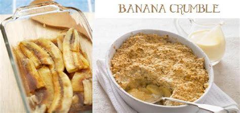 banana crumble recipe    banana crumble