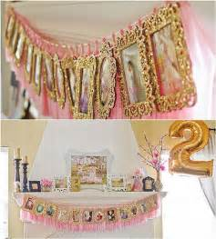 a diy pink and gold themed birthday