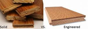 Benefits of engineered and real hardwood flooring ozburn for What is the difference between laminate and engineered flooring