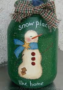 There s Snow Place Like Home Jar