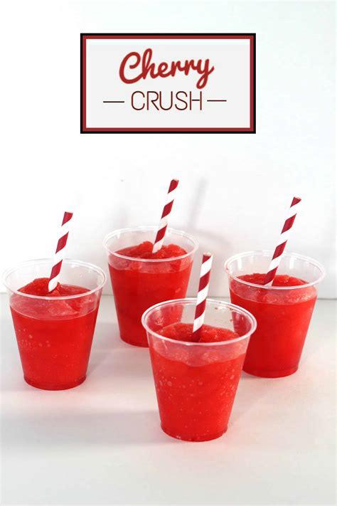 cherry crush slush mom   boys