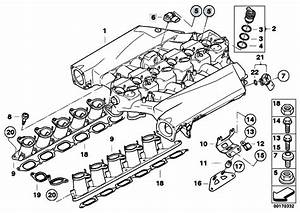 Original Parts For E68 Hydrogen 7 N73 Sedan    Engine