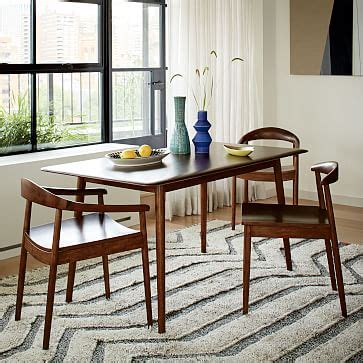 Kitchen Banquette Ideas - modern dining table west elm
