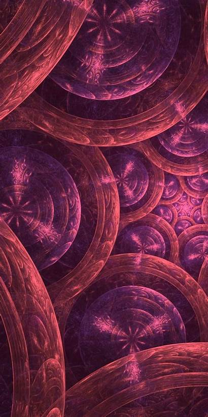 Circles Rings Fractal Amoled Howinfo Honor 2160