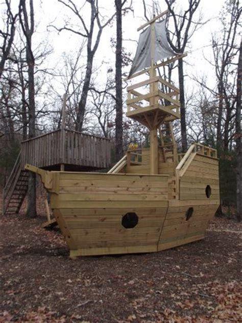 backyard pirate ship plans pirate ship playhouse plans kid stuff