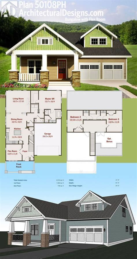 plan ph bungalow  flex room