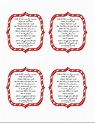 Delightful Order: Free Printable Candy Cane Poem