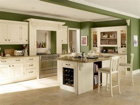 kitchen wall colors with green cabinets kitchen wall