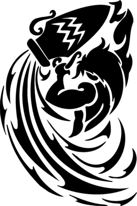 13 Cool Aquarius Tribal Tattoo | Only Tribal