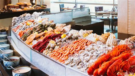 table mountain seafood buffet the food gallery luxury hotel hong kong the langham