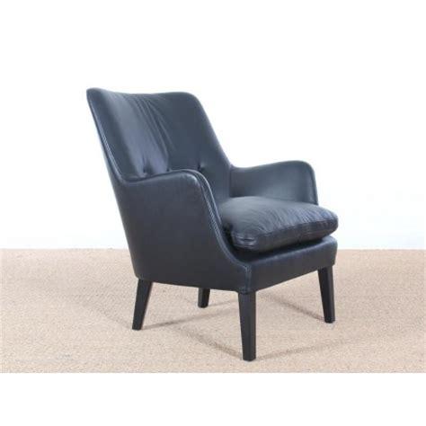 fauteuil scandinave model av  en cuir nouvelle edition