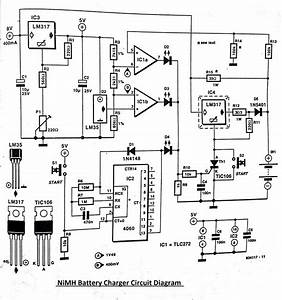 Battery Schematic Diagram : nimh battery charger circuit diagram ~ A.2002-acura-tl-radio.info Haus und Dekorationen