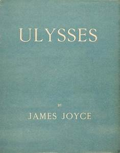 James Joyce Ulysses Book Cover