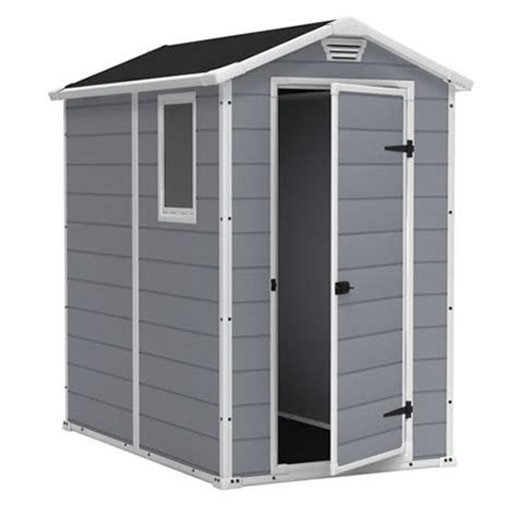 4x6 vinyl storage shed keter storage sheds plastic shed kits buildings