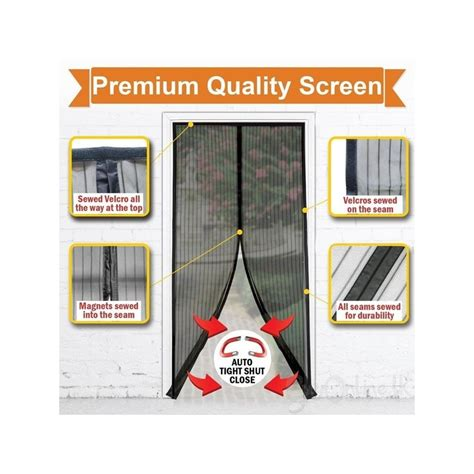 magic mesh free magnetic screen door