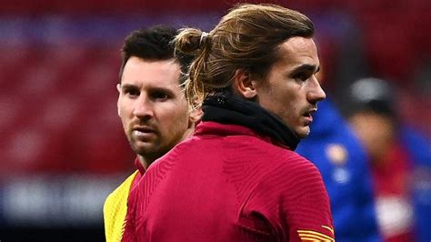 Griezmann Reveals What Messi Said When He Joined Barca ...