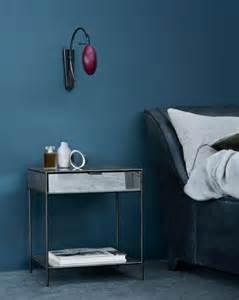 wohnideen schlafzimmer blau wand streichen in farbpalette der wandfarbe blau freshouse