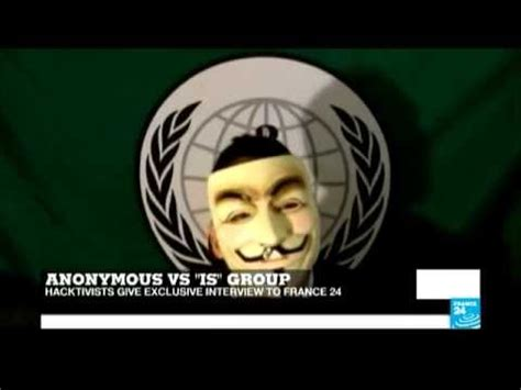 Anonymous Meme - anonymous declare cyber war on is militants youtube