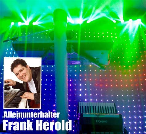alleinunterhalter musiker frank herold std referenzen