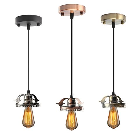 antique industrial vintage ceiling pendant light l bulb