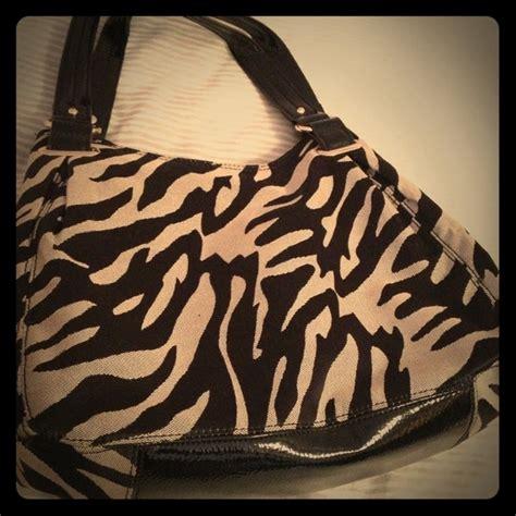 88% Off Anne Klein Handbags  Anne Klein Purse Zebra