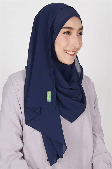 sell pasmina instan nihara navy instant hijab hijabenkacom