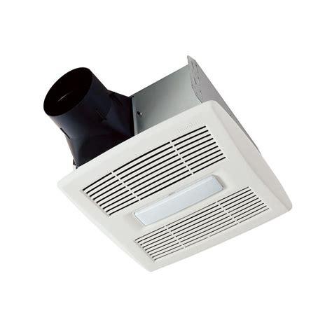 bathroom ceiling exhaust fan with light broan invent series 110 cfm ceiling bathroom exhaust fan