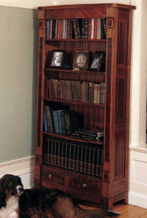 heirloom bookcase downloadable plan