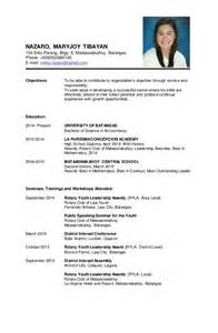halimbawa ng resume bestsellerbookdb